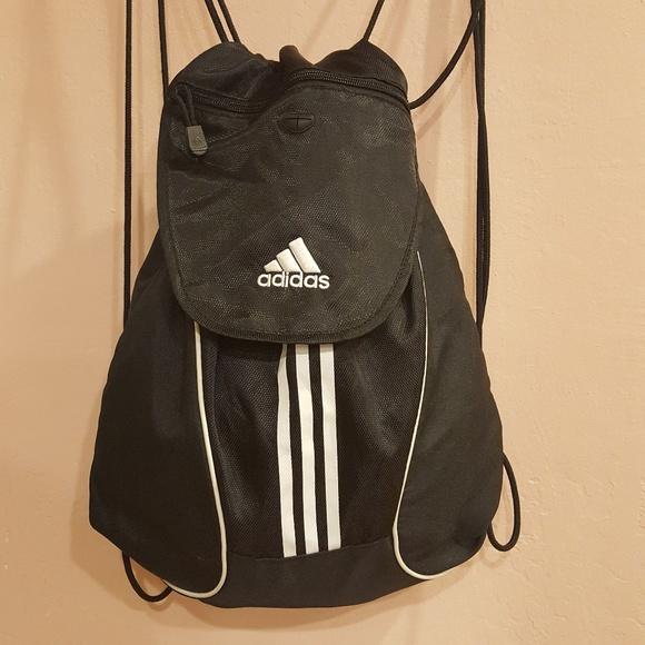 dd6e60bde632 adidas Handbags - Adidas Sport Backpack Bag Gym Sack Black